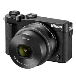Nikon Digital Camera J5 Kit 10-30mm Black