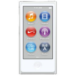Apple iPod nano 16GB White and Silver