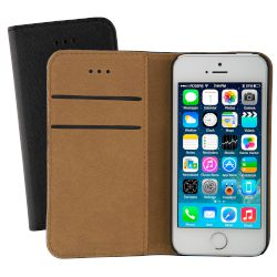 Θήκη Sentio Book Cover για iPhone 5/5s/SE Μαύρη