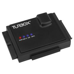 "Turbo-X Adaptor HDD Sata 2.5""/3.5"" to USB 3.0"