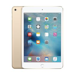 "Apple iPad mini 4 128GB Gold Tablet 7.9"" WiFi"
