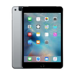 "Apple iPad mini 4 64GB Space gray Tablet 7.9"" 4G"