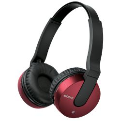 Headphones Bluetooth Sony MDR-ZX550BNR Κόκκινο