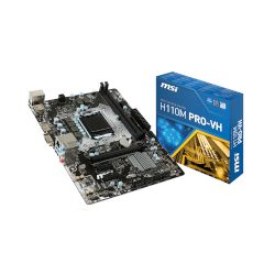 MSI Motherboard H110M PRO-VH (H110/1151/DDR4)