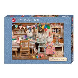 "HEYE Puzzle ""Mouse Mansion-Celebration"" 500 τεμ."