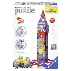 "Ravensburger 3D Puzzle ""Minions Movie"" 216 τμχ"