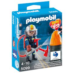 playmobil 5099 Πυροσβέστης Play and Give