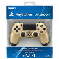 Sony PS4 Dualshock 4 Gold Wireless Controller