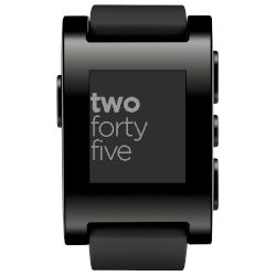 Smartwatch pebble Classic Μαύρο