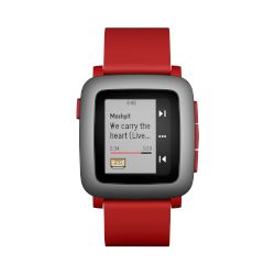 Smartwatch pebble Time Red