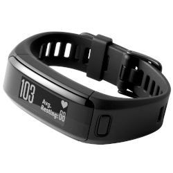 Smartband Garmin Vivosmart HR Regular Μαύρο