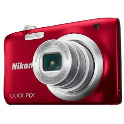Nikon Digital Camera Coolpix A100 Κόκκινο