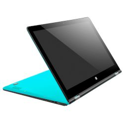 Turbo-X FlexBook 360° 14 Mint Blue Laptop (Atom x5 Atom Z8300/2 GB/32 GB/Intel HD Graphics)