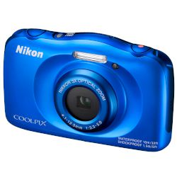 Nikon Αδιάβροχη Digital Camera Coolpix S33 Μπλε