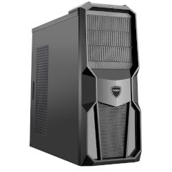 Turbo-X Cerberus GS300 Desktop (AMD A-Series 7860Κ/8 GB/240 GB SSD/500 GB HDD/R7 360)