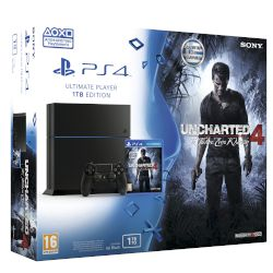 Sony PS4 1TB + Uncharted 4 A Thiefs End