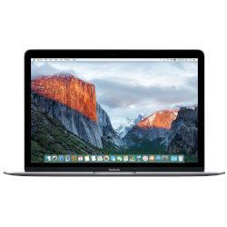 Apple MacBook 12 MLH72GR/A (Early 2016) Space Gray Laptop (Core M M3-6Y30/8 GB/256 GB/Intel)
