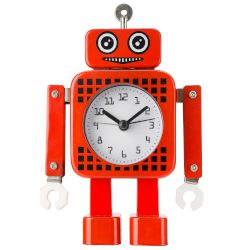 Sentio Robot Alarm Clock Red