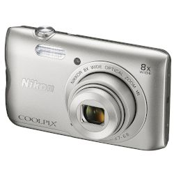 Nikon Digital Camera A300 Coolpix Ασημί