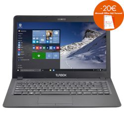 "Turbo-X Flynote II 14"" 30-232 MTS Laptop (Celeron N3050/2 GB/32 GB/Intel HD Graphics)"