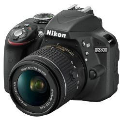Nikon Digital Camera D3300 AF-P DX 18-55
