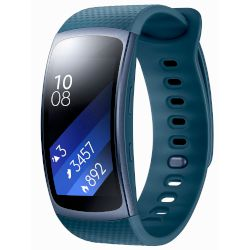 Smartband Samsung Gear Fit 2 Μπλε, Μικρό