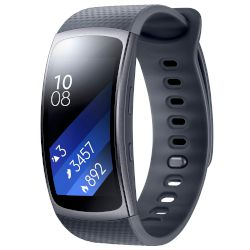 Smartband Samsung Gear Fit 2 Γκρι, Μικρό