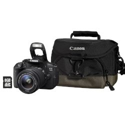 Canon Digital Camera EOS-700D EFS 18-55 IS STM + Memory Card 8 GB + Θήκη μεταφοράς