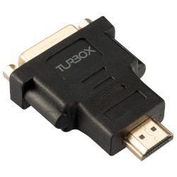Turbo-X Αντάπτορας HDMI Male to DVI Female