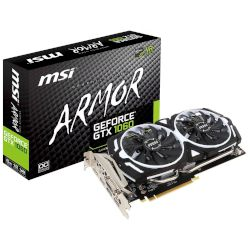 MSI VGA GeForce GTX 1060 Armor OCV1 3GB