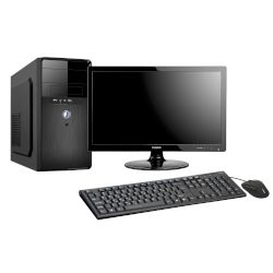 Turbo-X Sphere ES50 Student Edition Desktop (Intel Core i3 6098P/4 GB/1 TB HDD//Intel HD 510)