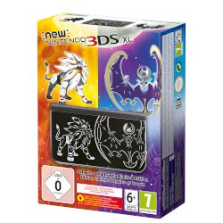 Nintendo 3DS xl Solgaleo And Lunala Limited Ed