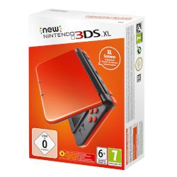 Nintendo 3DS 4GB Xl Orange Black