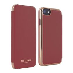 Θήκη TED BAKER Book Cover για iPhone 7 Oxblood
