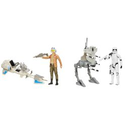 Hasbro Φιγούρα Star Wars E7 Hs Hero Series & Vehicle
