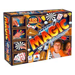 Desyllas GAMES Amazing Magic 100 Tricks+Dvd