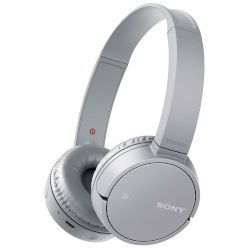 Headphones Bluetooth Sony MDR-ZX220BT Γκρι