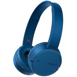 Headphones Bluetooth Sony MDR-ZX220BT Μπλε