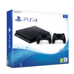 Sony Playstation 4 Slim 1 TB + 2nd Dualshock