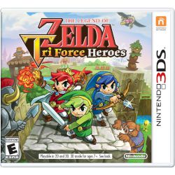 Nintendo The Legend Of Zelda Tri Force Heroes 3DS