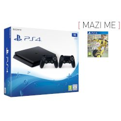 Sony Playstation 4 Slim 1 TB + 2nd Dualshock + Fifa 17