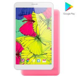 "Turbo-X Rainbow III (16GB) Ροζ Tablet 8"" 3G"