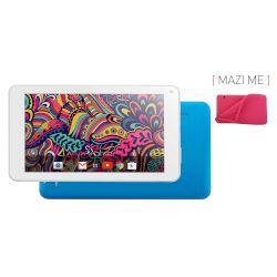 "Tablet Turbo-X Twister (16GB) Μπλε  7""με Θήκη Βack Cover Ροζ"