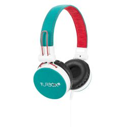 Headphones Turbo-X Hi-Sound Πράσινο