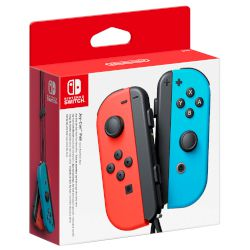 Nintendo Switch JoyCon Pair Red and Blue