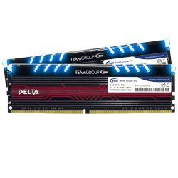 TeamGroup Desktop RAM Delta Blue 16GB Kit 3000MHz DDR4