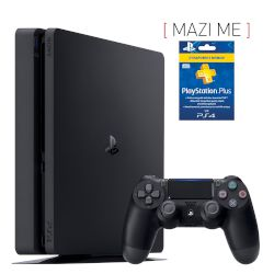Sony Playstation 4 Slim 500 GB + 3-months card