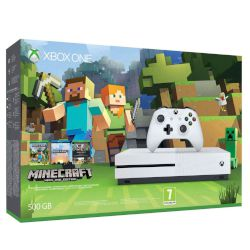 Microsoft Xbox ONE S 500 GB + Minecraft Favorites