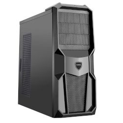Turbo-X Cerberus GK500 Desktop (Intel Core i7 7700/8 GB/1 TB HDD/120 GB SSD/RX 460)
