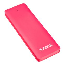 Powerbank 2600 mAh 1 Θέσης Turbo-X Φούξια 1A,Flatty